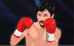 Manny Pacquiao Vector Art