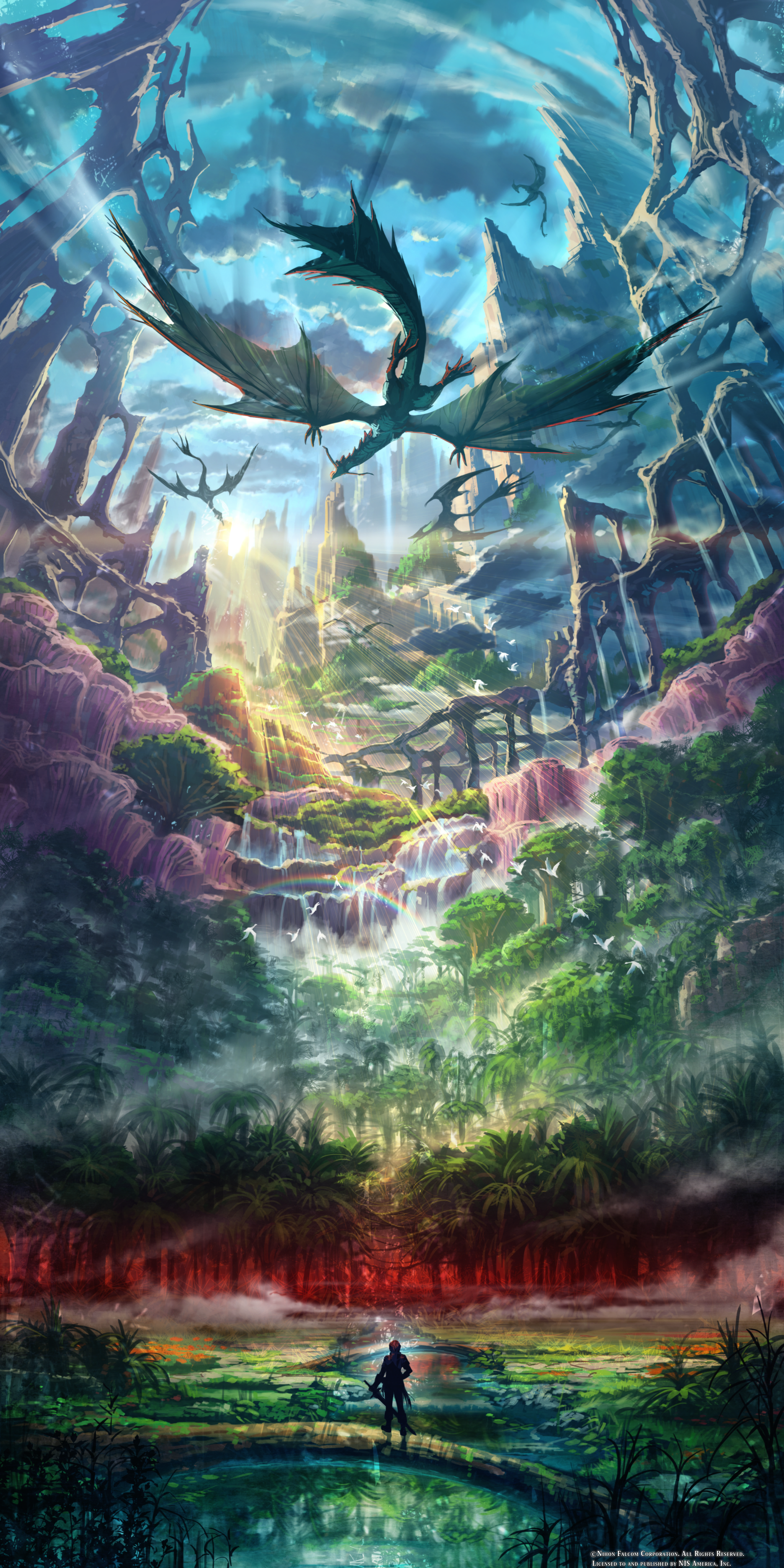 Ys Viii Lacrimosa Of Dana World Concept Artwork By Wowan14 On
