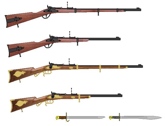 Breech Loading Rifle