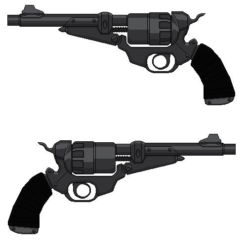 Erron Black's Pistols (Mortal Kombat X) 6 in. Barr