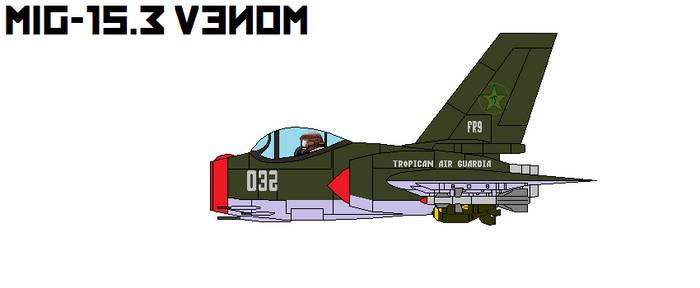 Mig-15.3 Venom FB by DonaldMoore909