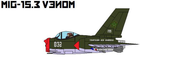 Mig-15.3 Venom Interceptor by DonaldMoore909