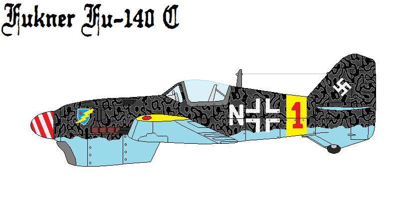 Fukner Fu-140 C Fighter Bomber by DonaldMoore909
