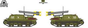 Deva III Tractor w-Kaytusha Rocket Launcher