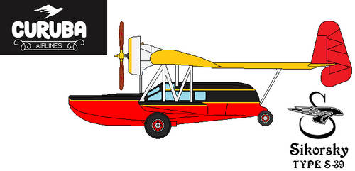 Sikorsky S-39 Flying Boat Side by DonaldMoore909
