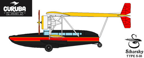 Sikorsky S-38 Flying Boat Side by DonaldMoore909