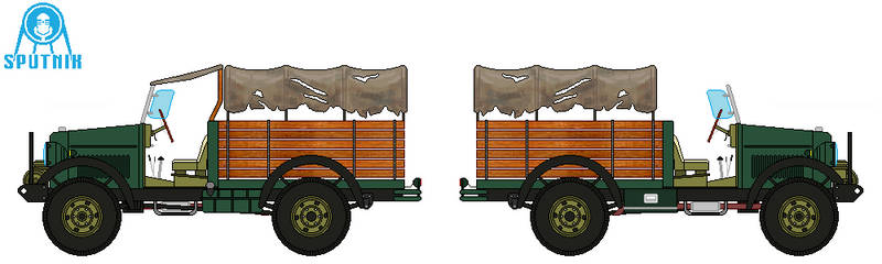 Sputnik CS8 3-4 Ton 4x4 Modified Truck by DonaldMoore909