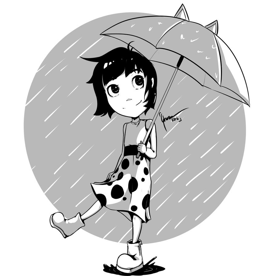 I Love Rain by GhazieArsha
