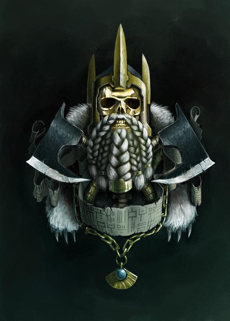 dwarven emblem