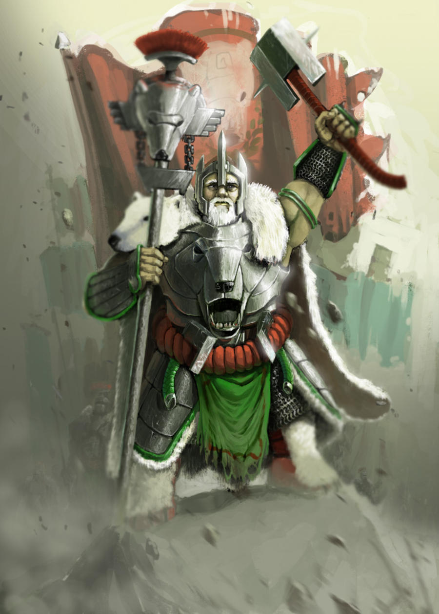 dwarven Clan Lord by Omuk