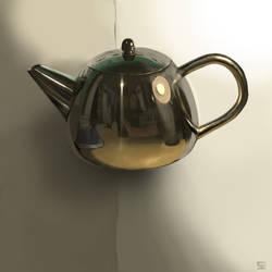 tea pot -studie