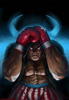 Street fighter: Balrog by Omuk