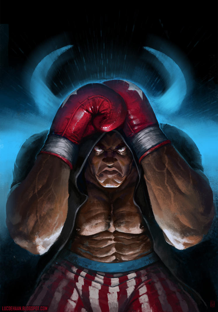 Street fighter: Balrog by Omuk