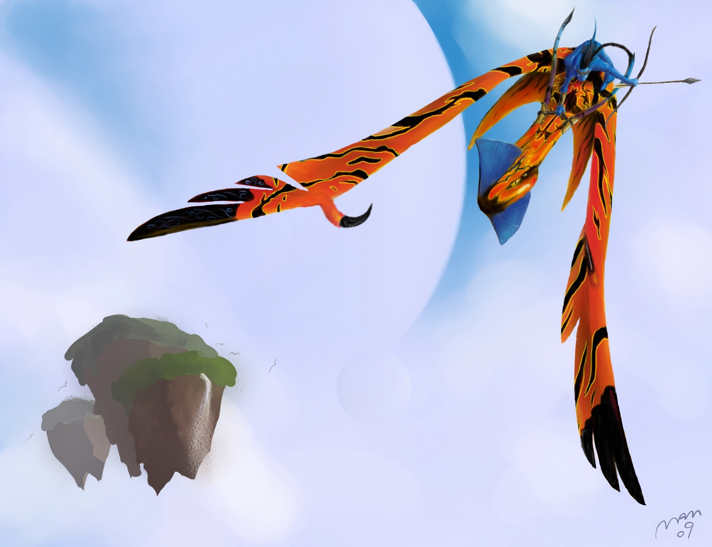 Avatar toruk great leonopteryx by dragonmjos on deviantart - Leonopteryx wallpaper ...