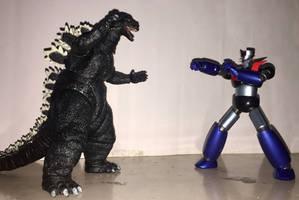 Godzilla vs. Mazinger Z