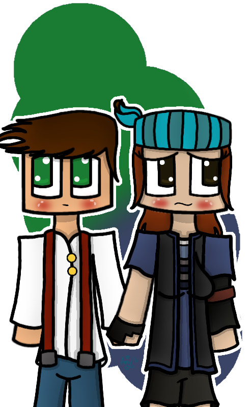 Jesse X Petra Minecraft Story Mode By Mscarmensandiego On
