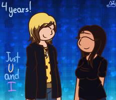 U and I (Early 4 Year Friendship Gift)