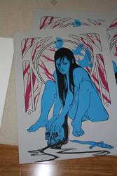 Kiss Of Death number 2 Print by furiaedirae
