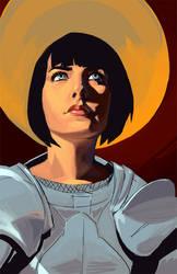 Joan of Arc by furiaedirae