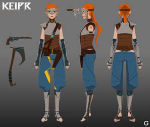 Keipr Online: Female Archetype by furiaedirae