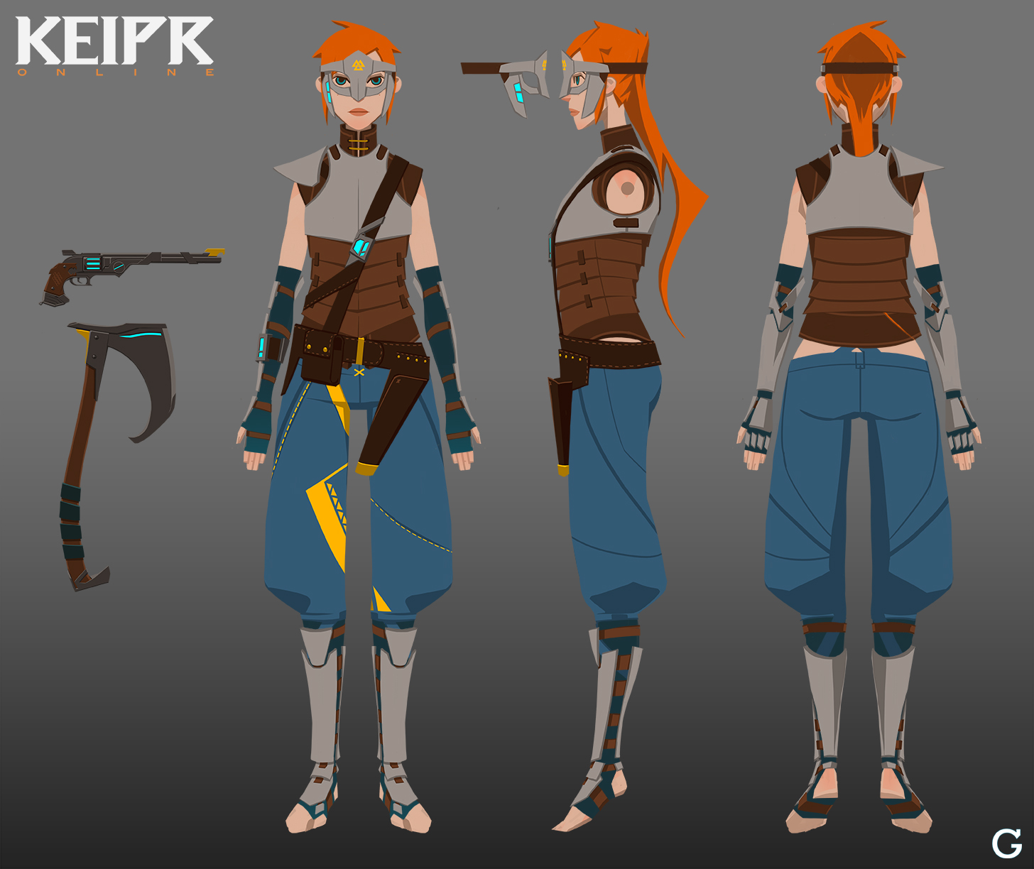 Fantasy Character Design Sheet : Keipr online female archetype by troygalluzzi on deviantart