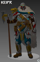 Keipr Online: Wolfguard by furiaedirae