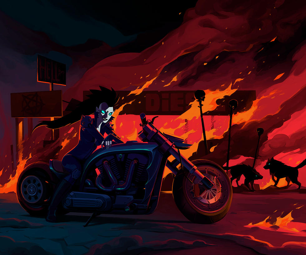 Long hard road out of hell by TroyGalluzzi