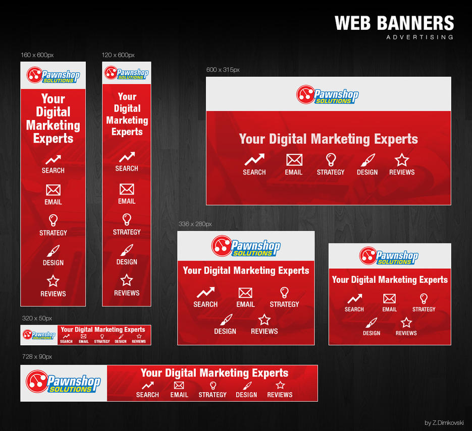 Advertising Web Banners By Zd by zokac1
