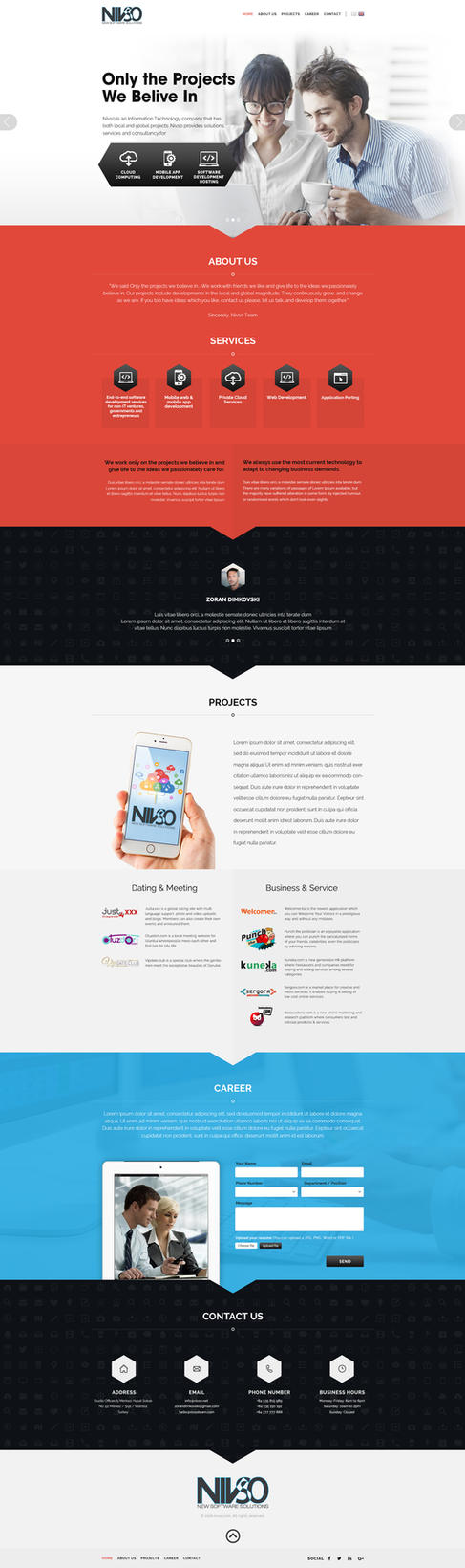 Nivso Homepage by zokac1