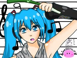Hatsune Miku by pucca-the-tree