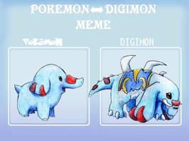 PokeDigi meme - Phanpy