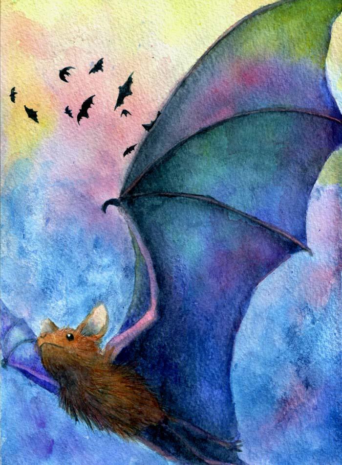 Bat of many hues by Night-Owl8