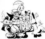 Mystery Dungeon Team up!