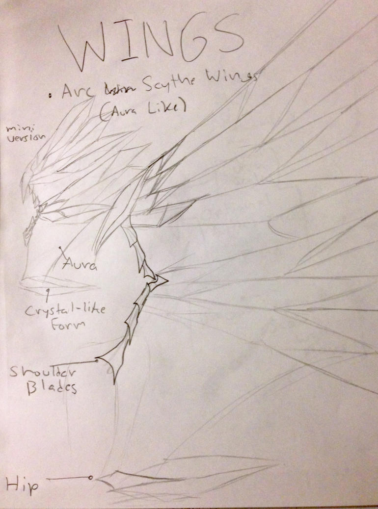 Arc Scythe Wings Reference by HaloExodus