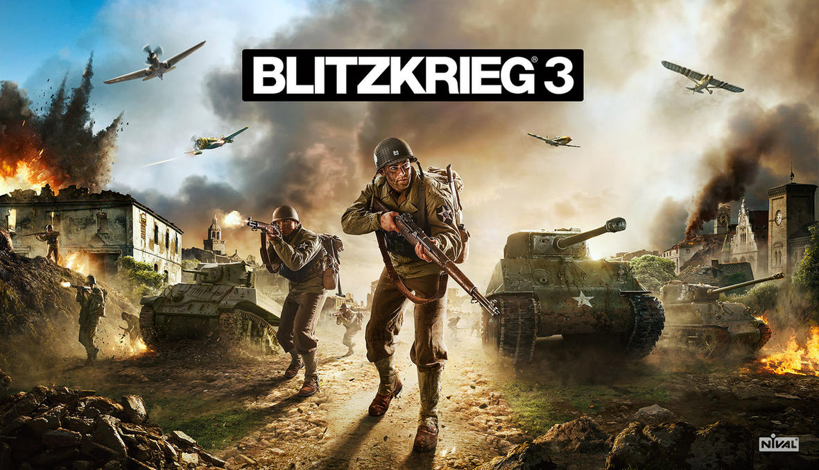 Blitzkrieg 3 Official game art by Tri5tate