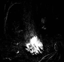 Burning bright by Silnaur