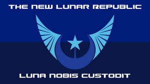 The Flag of the New Lunar Republic