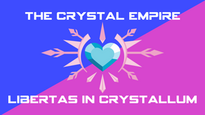The Flag of the Crystal Empire by PilotSolaris