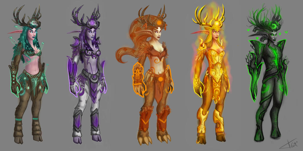 how to make stag form look different wowhead