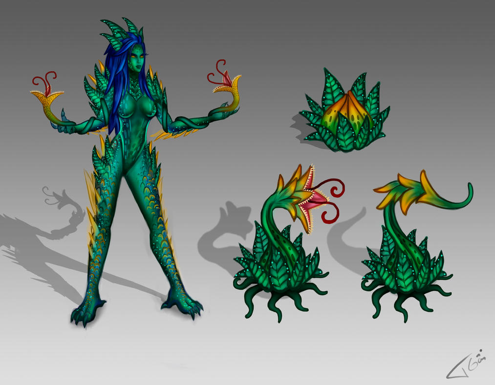 Zyra new skin Letal Jungle by Tonig2