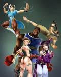 Team Street Fighter