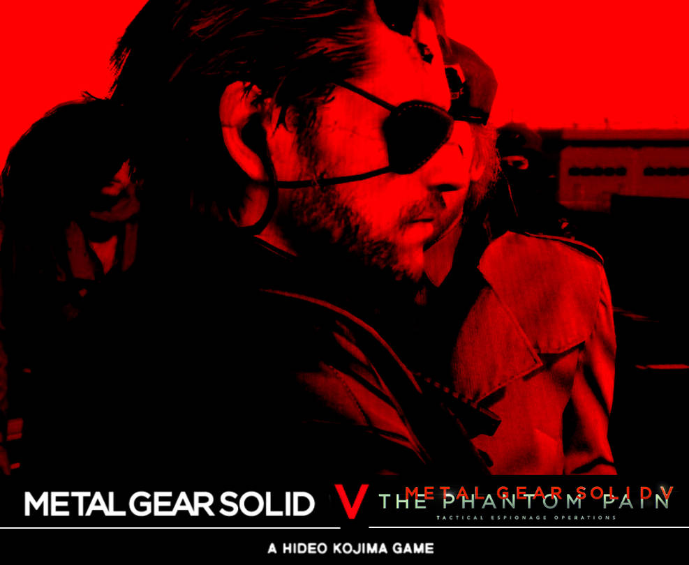 Metal Gear Solid V Phantom Pain Wallpaper By Thel0nelywolf On