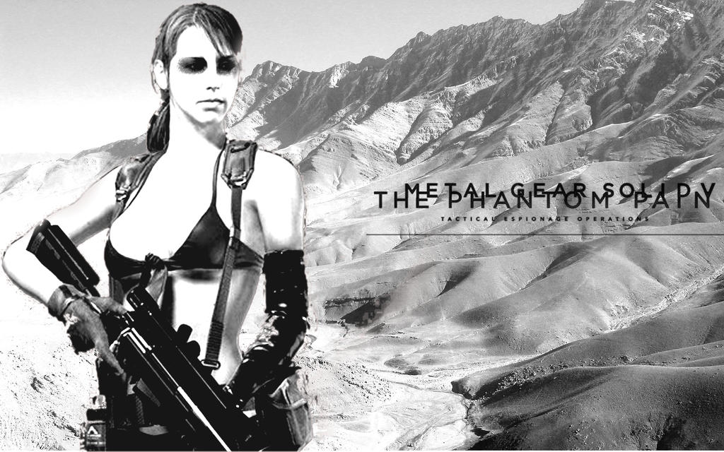 Metal Gear Solid V: Phantom Pain Wallpaper - Quiet by ...