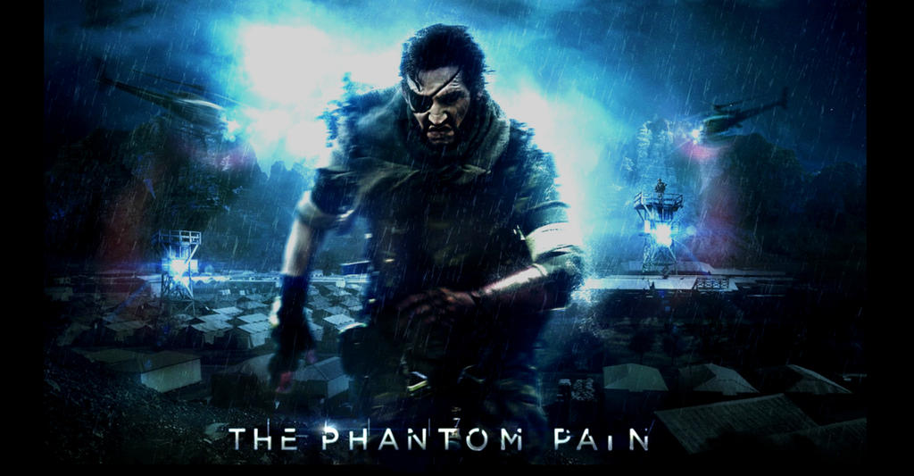 metal gear solid phantom pain wallpaper by thel0nelywolf