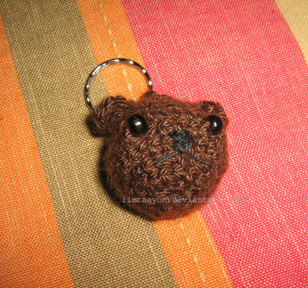 Tiny Teddy bear Cute Bag charm Kawaii keychain Backpack pendant ... | 561x600