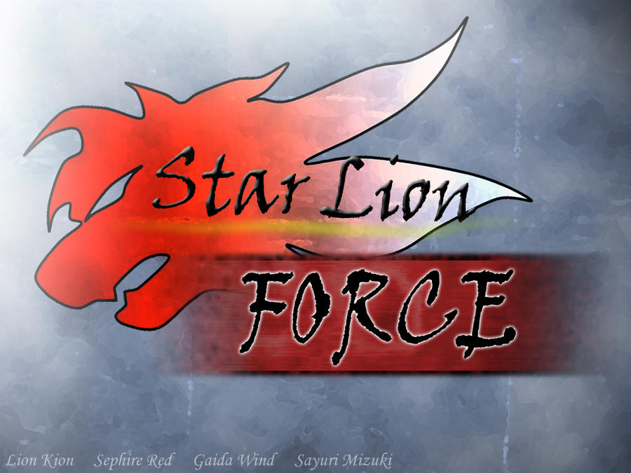 Star Lion Force Logo by DragonKion