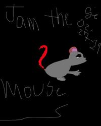 Jam The Mouse by sunshinebabywife