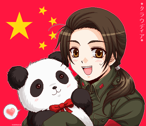 +APH: Chibi China+ by kuraudia