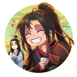 +MDZS: Emperor's Smile+ by kuraudia