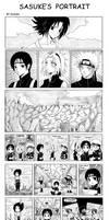 +Sasuke's Portrait x3+